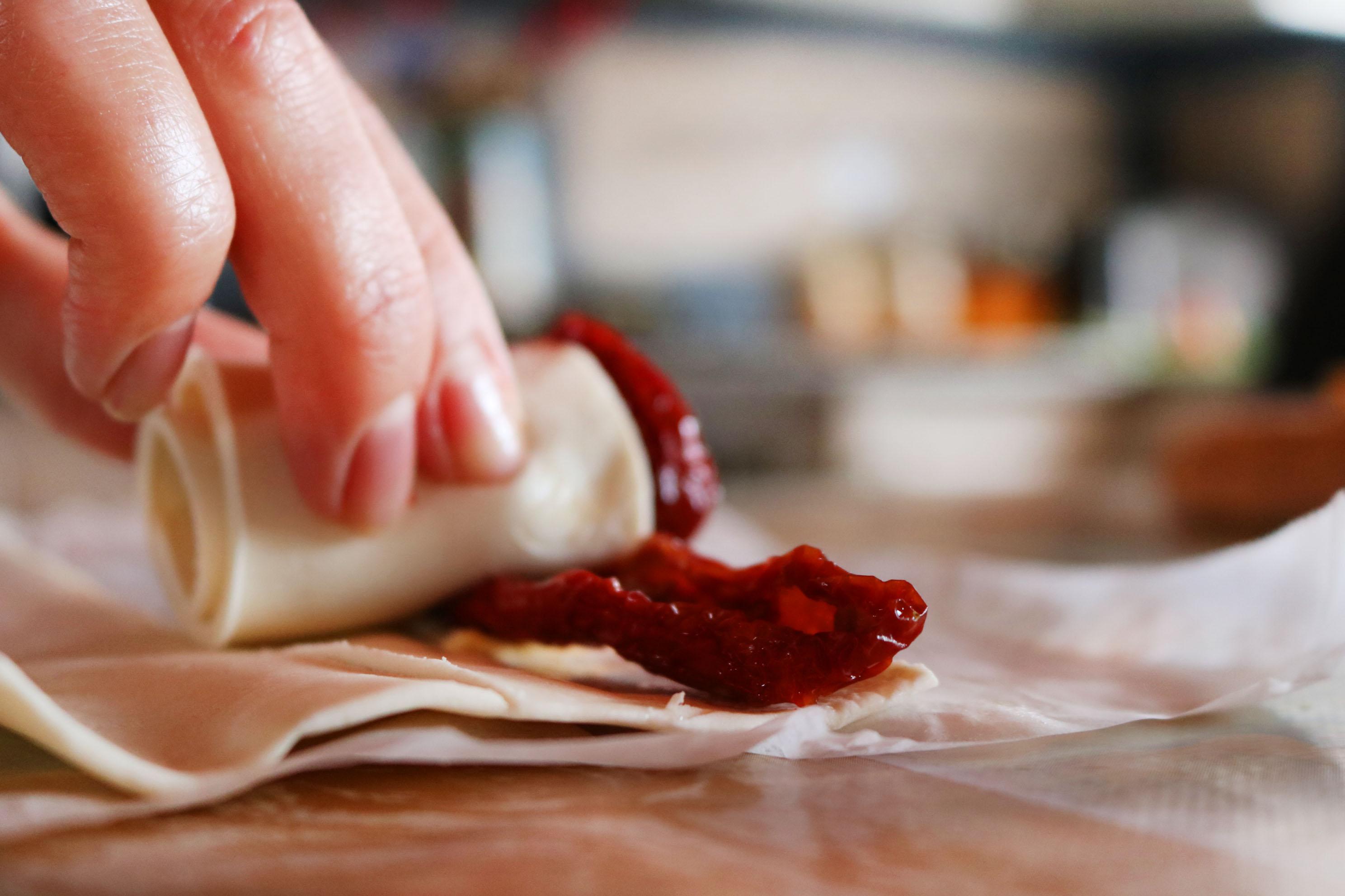Roselline di pasta sfoglia Stuffer