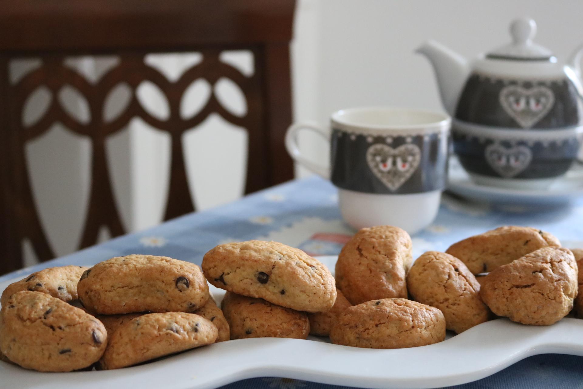 Come preparare i biscotti con gocce di cioccolato