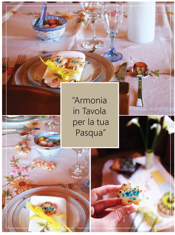 Allegria in tavola per Pasqua: la ricetta dei miei Biscotti segnaposto