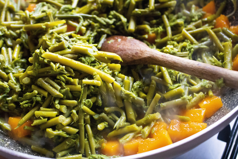 La ricetta del Risotto con Asparagi di Ficuzza e Zucca