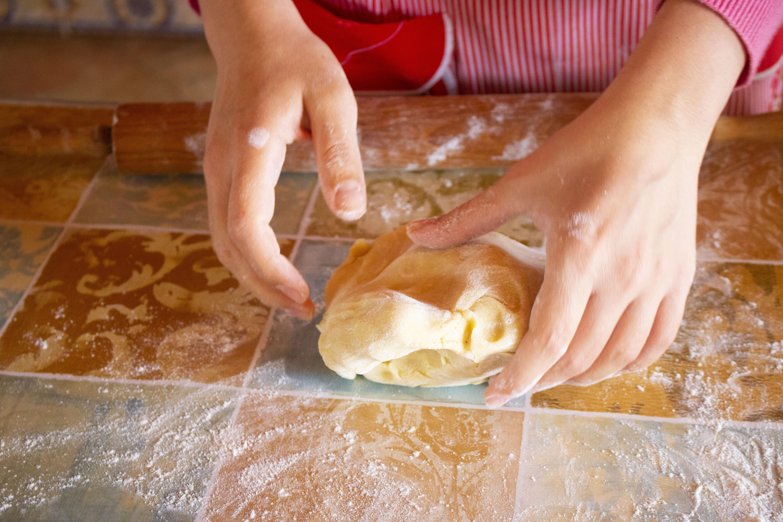 Happy Mother's day con una Crostata di mele e Crema Pasticcera #lactosefree