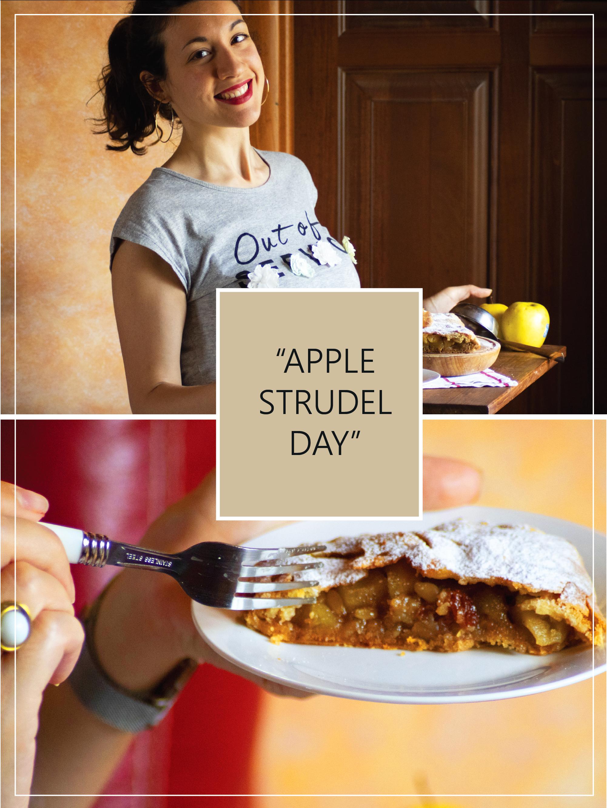 Apple Strudel day