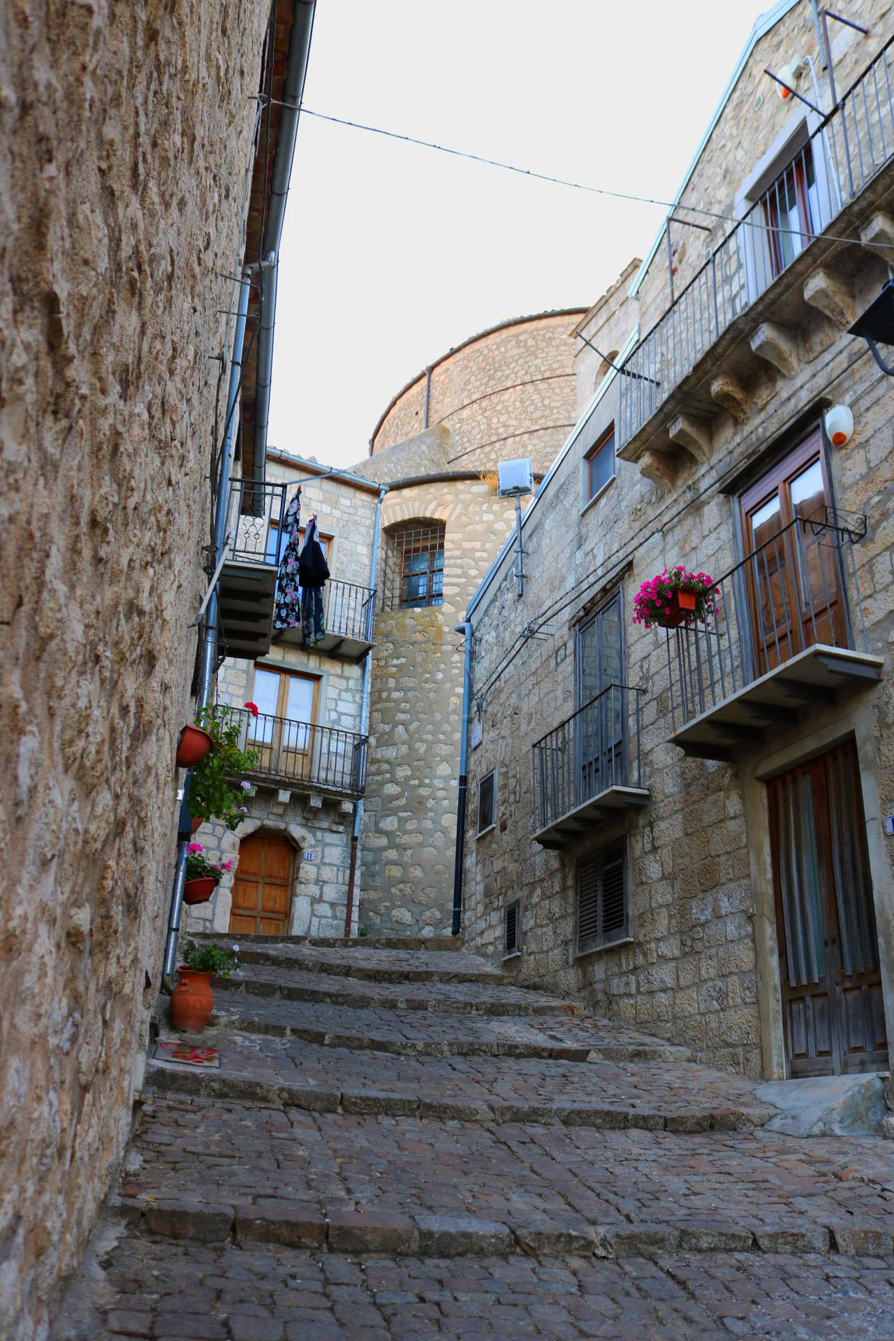 Petralia Soprana, borgo