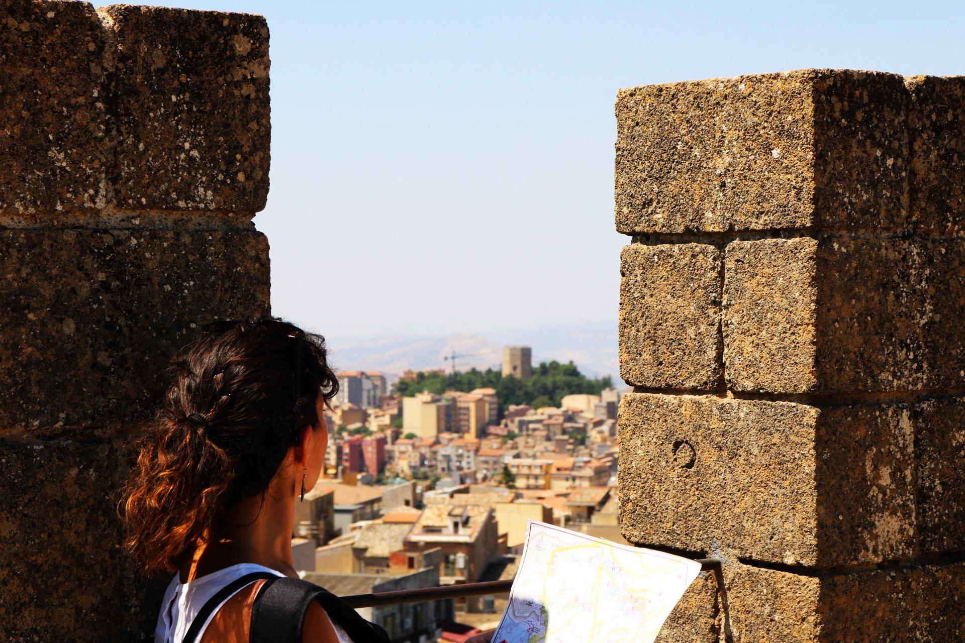 Vista dal Castello Lombardia