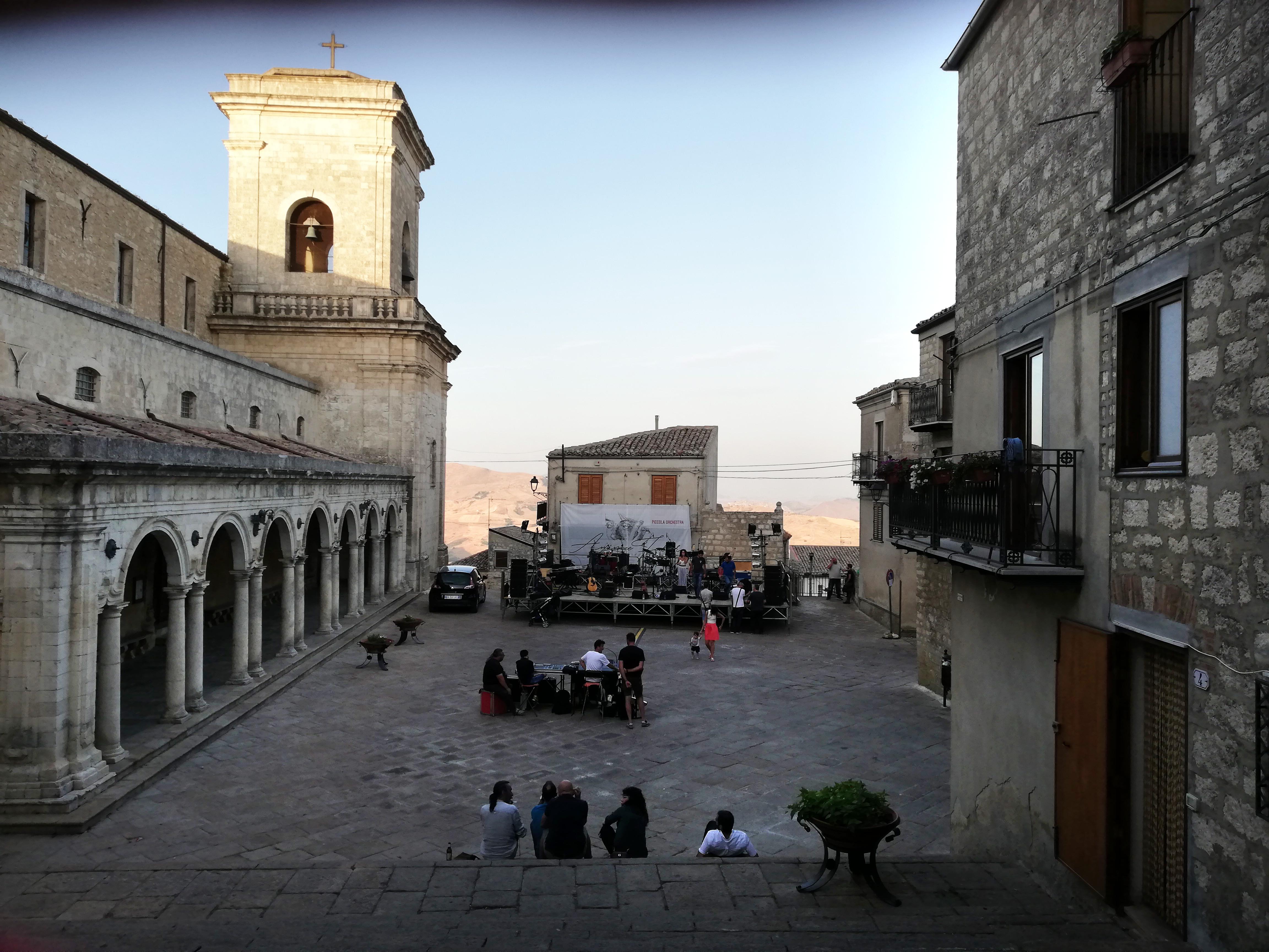 Petralia Soprana-Piazza Duomo