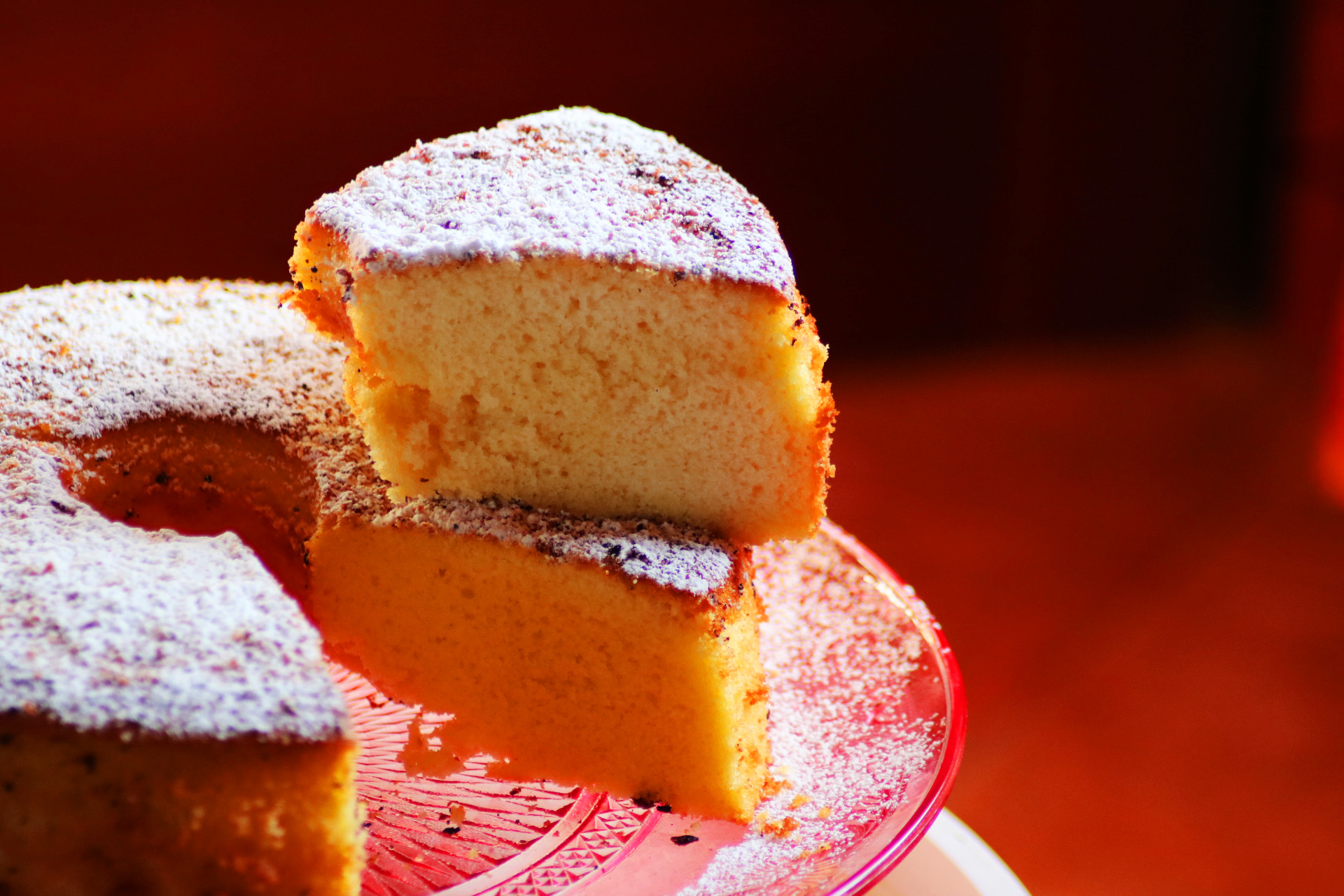 Chiffon cake agli agrumi: ricetta e storia