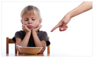 Le lotte a tavola con i bambini
