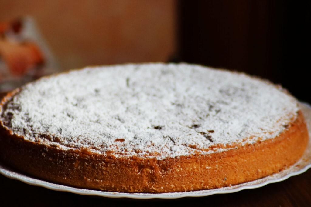 torta paradiso intera